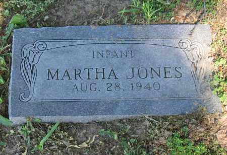 JONES, MARTHA - Lawrence County, Arkansas   MARTHA JONES - Arkansas Gravestone Photos
