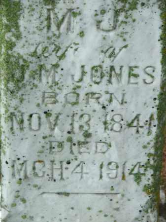 JONES, MARY JANE - Lawrence County, Arkansas   MARY JANE JONES - Arkansas Gravestone Photos