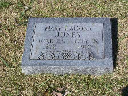 JONES, MARY LADONA - Lawrence County, Arkansas | MARY LADONA JONES - Arkansas Gravestone Photos