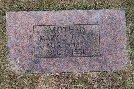 JONES, MARY J. - Lawrence County, Arkansas | MARY J. JONES - Arkansas Gravestone Photos