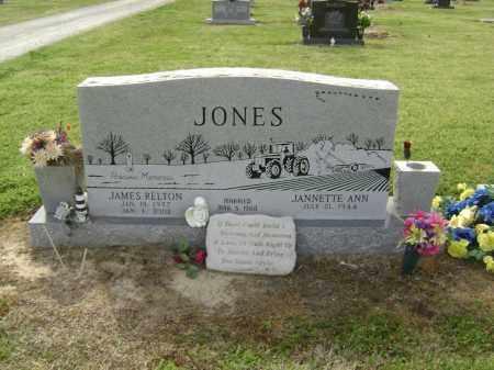 JONES, JAMES RELTON - Lawrence County, Arkansas   JAMES RELTON JONES - Arkansas Gravestone Photos