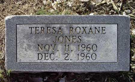 JONES, TERESA ROXANE - Lawrence County, Arkansas | TERESA ROXANE JONES - Arkansas Gravestone Photos
