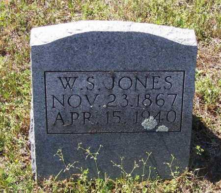 "JONES, WILLIAM STANLEY ""W. S."" - Lawrence County, Arkansas | WILLIAM STANLEY ""W. S."" JONES - Arkansas Gravestone Photos"