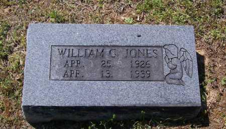 JONES, WILLIAM G. - Lawrence County, Arkansas | WILLIAM G. JONES - Arkansas Gravestone Photos
