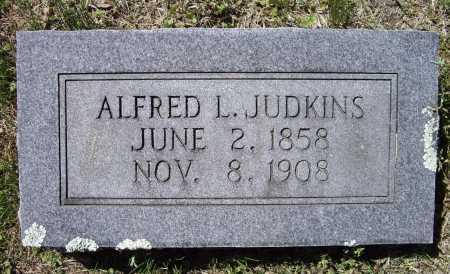 JUDKINS, ALFRED LEANDER - Lawrence County, Arkansas | ALFRED LEANDER JUDKINS - Arkansas Gravestone Photos