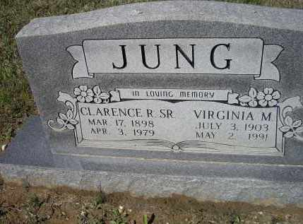 JUNG, SR., CLARENCE ROBERT - Lawrence County, Arkansas | CLARENCE ROBERT JUNG, SR. - Arkansas Gravestone Photos