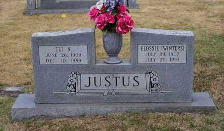 JUSTUS, FLOSSIE CORNELIA - Lawrence County, Arkansas | FLOSSIE CORNELIA JUSTUS - Arkansas Gravestone Photos