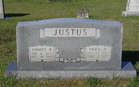 KERR JUSTUS, VIOLA DERENDRYA - Lawrence County, Arkansas   VIOLA DERENDRYA KERR JUSTUS - Arkansas Gravestone Photos
