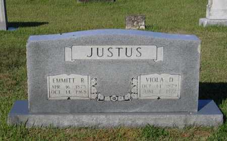 JUSTUS, EMMITT ROE - Lawrence County, Arkansas   EMMITT ROE JUSTUS - Arkansas Gravestone Photos
