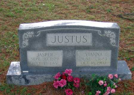 JUSTUS, H. VIANNA - Lawrence County, Arkansas | H. VIANNA JUSTUS - Arkansas Gravestone Photos