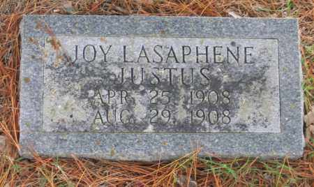 JUSTUS, JOY LASAPHENE - Lawrence County, Arkansas | JOY LASAPHENE JUSTUS - Arkansas Gravestone Photos