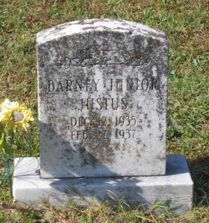 JUSTUS, JR., BARNEY ALMER - Lawrence County, Arkansas | BARNEY ALMER JUSTUS, JR. - Arkansas Gravestone Photos