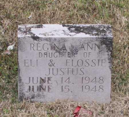 JUSTUS, REGINA ANN - Lawrence County, Arkansas | REGINA ANN JUSTUS - Arkansas Gravestone Photos