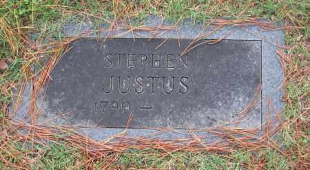 JUSTUS, STEPHEN - Lawrence County, Arkansas | STEPHEN JUSTUS - Arkansas Gravestone Photos