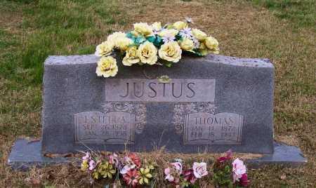MATTHEWS JUSTUS, ESTELLA - Lawrence County, Arkansas | ESTELLA MATTHEWS JUSTUS - Arkansas Gravestone Photos