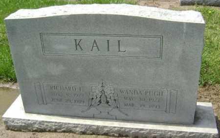 KAIL, RICHARD L. - Lawrence County, Arkansas | RICHARD L. KAIL - Arkansas Gravestone Photos