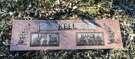 KELL, NANCY JANE - Lawrence County, Arkansas | NANCY JANE KELL - Arkansas Gravestone Photos