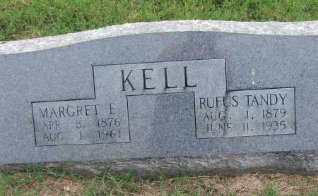 KELL, RUFUS TANDY - Lawrence County, Arkansas | RUFUS TANDY KELL - Arkansas Gravestone Photos