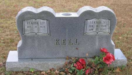KELL, VERNON VIRGIL - Lawrence County, Arkansas | VERNON VIRGIL KELL - Arkansas Gravestone Photos