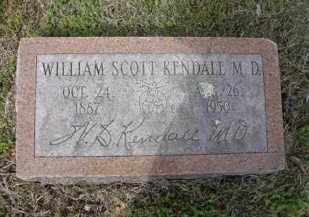 KENDALL, MD, WILLIAM SCOTT - Lawrence County, Arkansas | WILLIAM SCOTT KENDALL, MD - Arkansas Gravestone Photos
