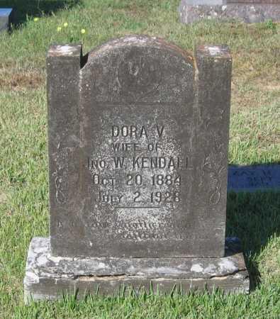 KENDALL, DORA V. - Lawrence County, Arkansas | DORA V. KENDALL - Arkansas Gravestone Photos