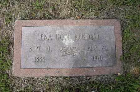 GOFF KENDALL, LENA - Lawrence County, Arkansas | LENA GOFF KENDALL - Arkansas Gravestone Photos