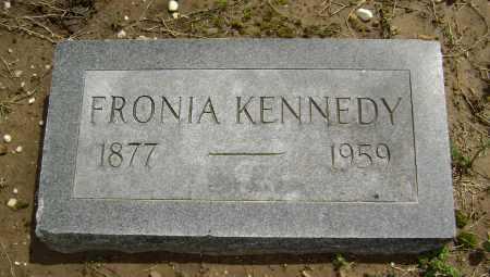 KENNEDY, FRONIA - Lawrence County, Arkansas | FRONIA KENNEDY - Arkansas Gravestone Photos