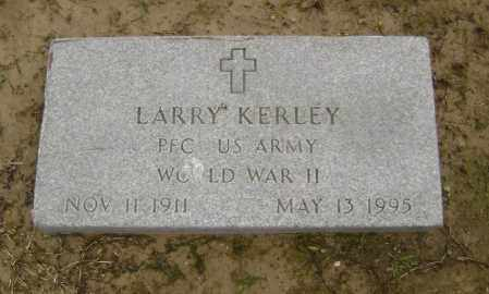 KERLEY (VETERAN WWII), LARRY - Lawrence County, Arkansas | LARRY KERLEY (VETERAN WWII) - Arkansas Gravestone Photos