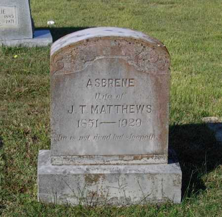 MATTHEWS, AMANDA M. ASBRENE RICHARDSON KERR - Lawrence County, Arkansas | AMANDA M. ASBRENE RICHARDSON KERR MATTHEWS - Arkansas Gravestone Photos