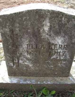 KERR, ELLA - Lawrence County, Arkansas | ELLA KERR - Arkansas Gravestone Photos