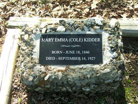 KIDDER, MARY EMMA - Lawrence County, Arkansas | MARY EMMA KIDDER - Arkansas Gravestone Photos