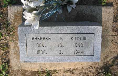 KILDOW, BARBARA F. - Lawrence County, Arkansas | BARBARA F. KILDOW - Arkansas Gravestone Photos