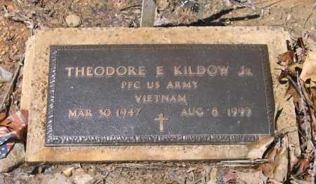 KILDOW, JR. (VETERAN VIET), THEODORE EUGENE - Lawrence County, Arkansas | THEODORE EUGENE KILDOW, JR. (VETERAN VIET) - Arkansas Gravestone Photos