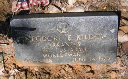 KILDOW, SR. (VETERAN WWII), THEODORE EUGENE - Lawrence County, Arkansas | THEODORE EUGENE KILDOW, SR. (VETERAN WWII) - Arkansas Gravestone Photos