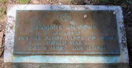 KILGOUR (VETERAN WWI), SAMMIE - Lawrence County, Arkansas | SAMMIE KILGOUR (VETERAN WWI) - Arkansas Gravestone Photos