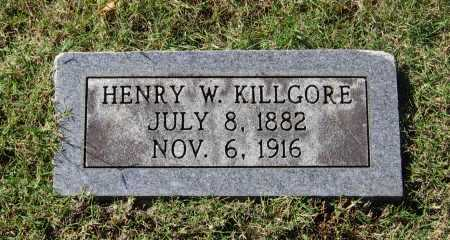 KILLGORE, HENRY W. - Lawrence County, Arkansas | HENRY W. KILLGORE - Arkansas Gravestone Photos