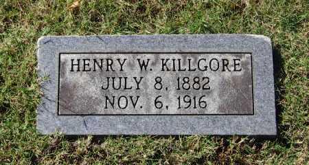 KILLGORE, HENRY W. - Lawrence County, Arkansas | HENRY W. KILLGORE - Arkansas Gravestone Photos