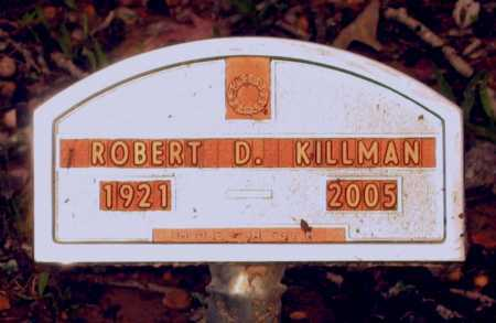 KILLMAN, ROBERT D. - Lawrence County, Arkansas | ROBERT D. KILLMAN - Arkansas Gravestone Photos