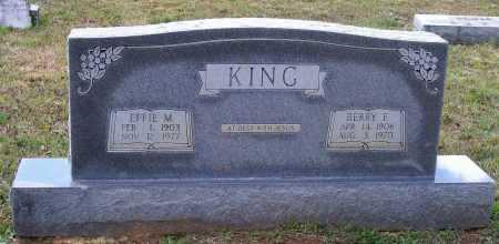 KING, EFFIE M. CONRAD - Lawrence County, Arkansas | EFFIE M. CONRAD KING - Arkansas Gravestone Photos