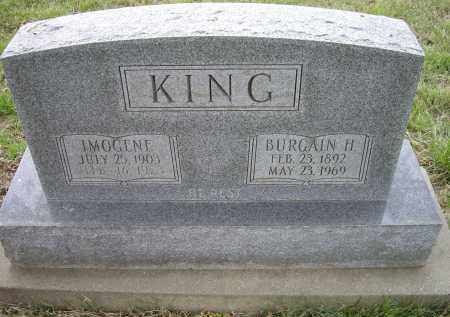 KING, IMOGENE - Lawrence County, Arkansas | IMOGENE KING - Arkansas Gravestone Photos