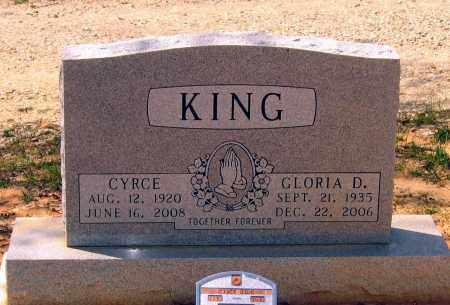 BELLAH KING, GLORIA DALE - Lawrence County, Arkansas | GLORIA DALE BELLAH KING - Arkansas Gravestone Photos