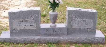 KING, CLYDE - Lawrence County, Arkansas | CLYDE KING - Arkansas Gravestone Photos