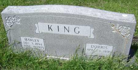 KING, HAWLEY - Lawrence County, Arkansas | HAWLEY KING - Arkansas Gravestone Photos