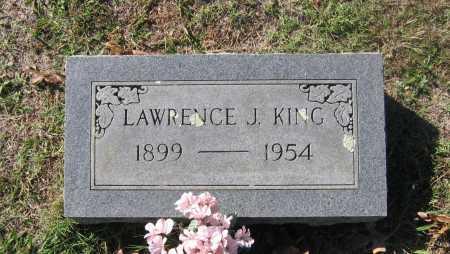 KING, LAWRENCE JOHNSON - Lawrence County, Arkansas | LAWRENCE JOHNSON KING - Arkansas Gravestone Photos