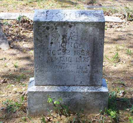 "KING, SARAH CAROLINE ""SALLIE"" - Lawrence County, Arkansas 
