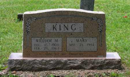 KING, WILLIAM M. - Lawrence County, Arkansas   WILLIAM M. KING - Arkansas Gravestone Photos