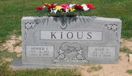 KIOUS, JESSIE LEOMA - Lawrence County, Arkansas | JESSIE LEOMA KIOUS - Arkansas Gravestone Photos