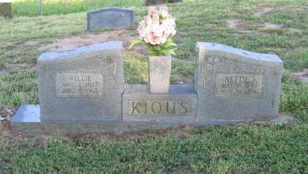 KIOUS, NETTIE JANE - Lawrence County, Arkansas | NETTIE JANE KIOUS - Arkansas Gravestone Photos