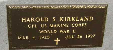 KIRKLAND  (VETERAN WWII), HAROLD STEPHEN - Lawrence County, Arkansas | HAROLD STEPHEN KIRKLAND  (VETERAN WWII) - Arkansas Gravestone Photos