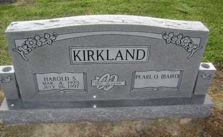 KIRKLAND, HAROLD STEPHEN - Lawrence County, Arkansas | HAROLD STEPHEN KIRKLAND - Arkansas Gravestone Photos